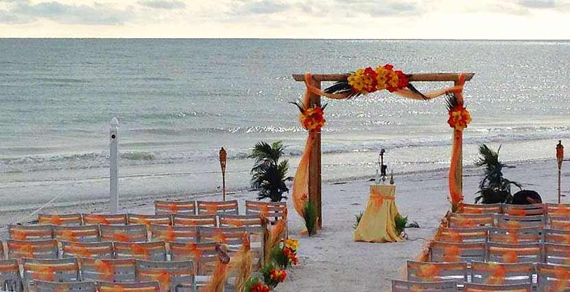 Sand Key Ceremony Wedding Detail